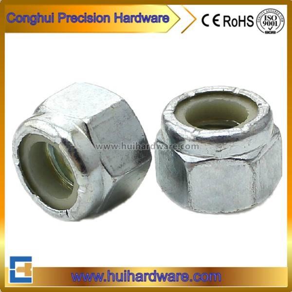 ANSI/ASME B 18.2.2 Steel Hexagon Nylon Lock Nut