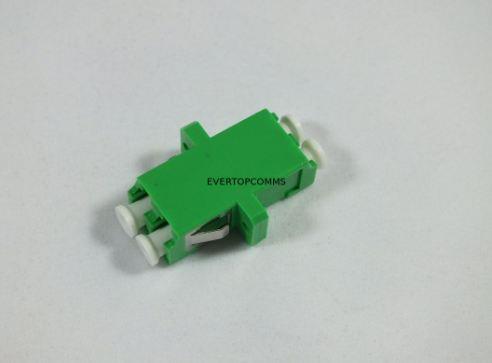 Singlemode LC Duplex Adapter Low Insertion Loss For CATV Networks