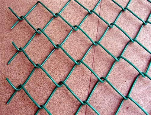 Galvanized mini mesh chain link fence, wire mesh fence
