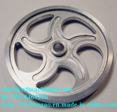 Customized Grey Iron Sand Casting Flywheel for Exercise Equipment