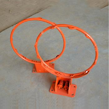 Official Size Steel Basketball Ring/Basketball Hoop/Basketball Rim/Elastic Basketball Ring/Heavy Dut