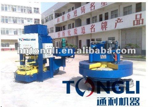 High capacity concrete floor tile polishing machine
