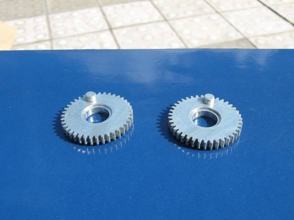 Zinc Straight Gear for Fishing reels/Tackle
