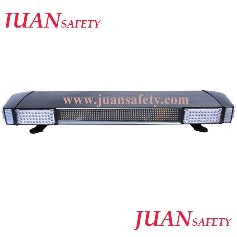 Led warning lightbar with led display, strobe light bar for police car TBD2125