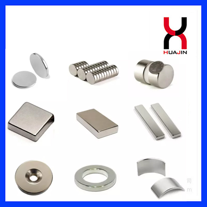 Permanent Sintered Rare Earth Neodymium Magnetic Material Disc/Block/Cylinder/Countersunk/Arc Magnet