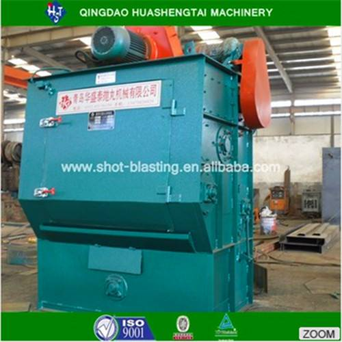 Q32 series rubber belt type shot blasting machine