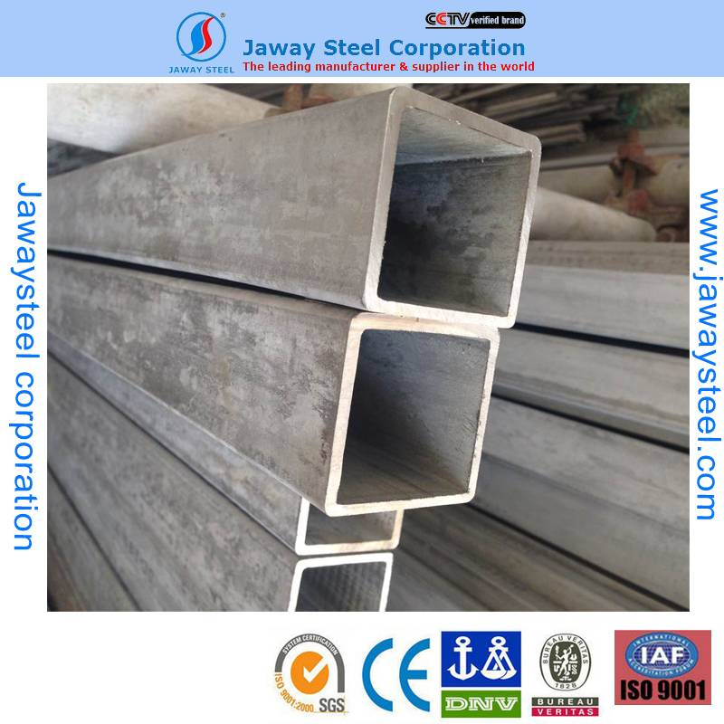SS Welded Square Pipe in stock