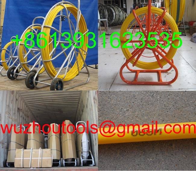 traceable duct rodder-Traceable Fiberglass Duct Rodders