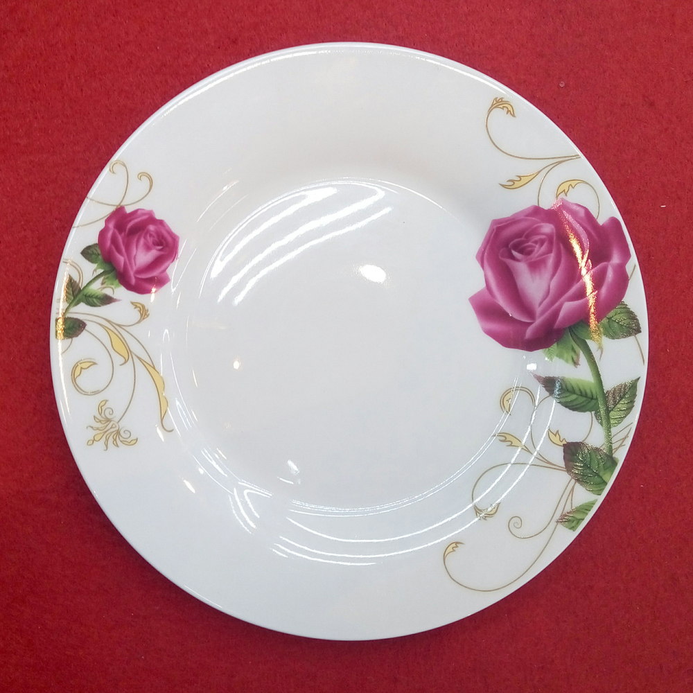 light design ceramic dinner plate for wedding