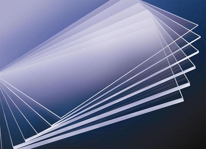 PMMA LGP v-cutting light guide plate