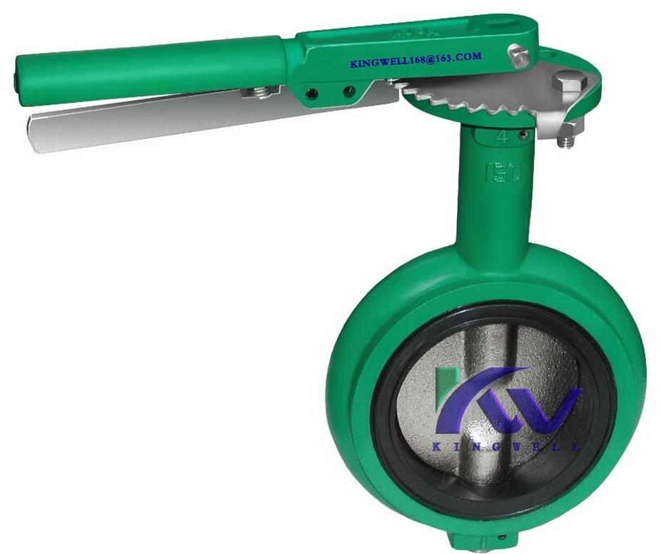 DEMCO interchangeable NEC wafer butterfly valve