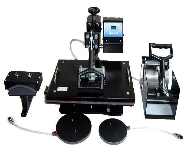 5 in 1 Combo Heat Transfer/Press Machine