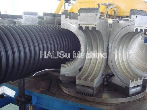 Corrugated Pipe Machine_HDPE/PP Double Wall Corrugated Pipe Extrusion Line