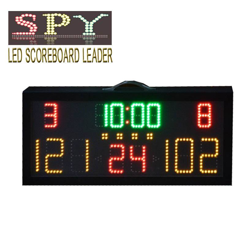 electronic digital scoreboard use for basketball and volleyball