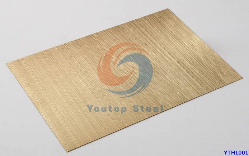 201304/430 Hairline stainless steel sheet