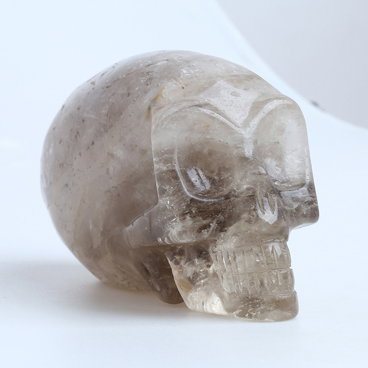 Hand carved crystal skull as crystal gifts