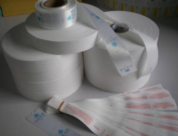 clothing tag /wash standard/fabric label/silk label