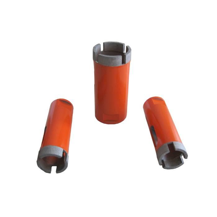 Diamond core drill bits for stone