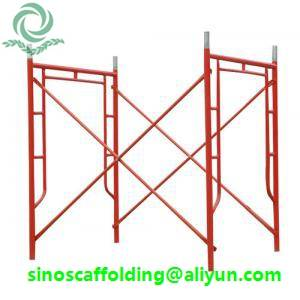 Frame Scaffolding shoring frame scaffolding ladder frame for construction