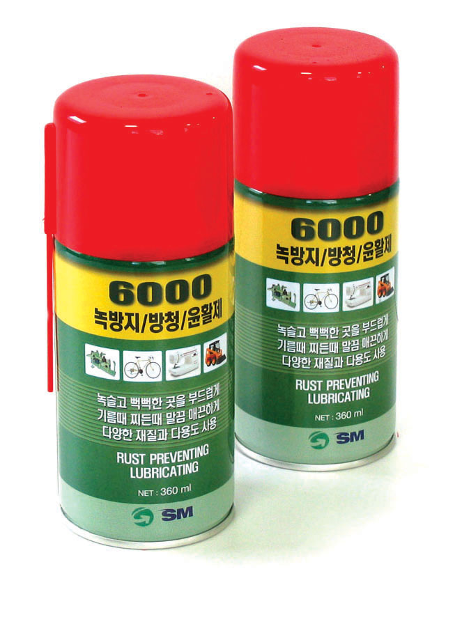 Aerosols_SM-6000 / RUST PREVENTING LUBRICATION