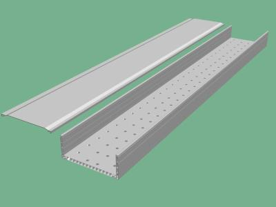 High quality hot dipped galvanized perforated cable tray