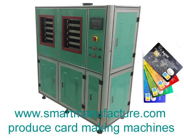 SMCLm-5A RFID Contactless Inlay Card Laminator
