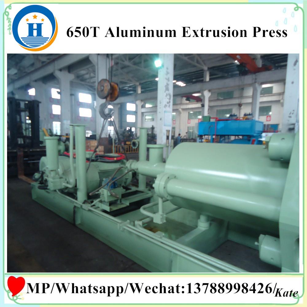 line for produce aluminium profile hot sale aluminium press machine