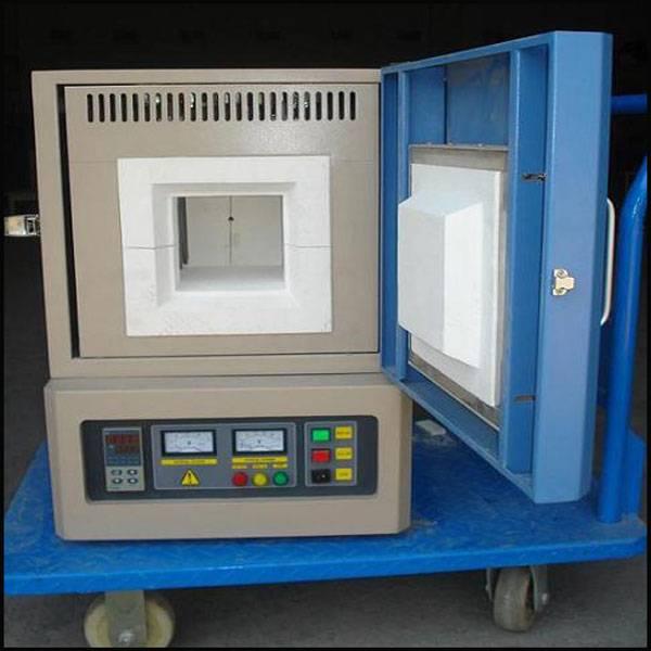Muffle heating laboratory furnace for university lab