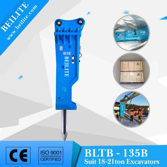 BLTB135 mining excavator hammer for different type mining excavator.