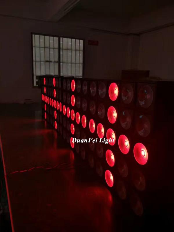 5x5 led blinder light 3in1 rgb led matrix light stage backdrop