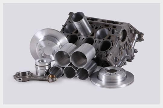 AlSi auto parts