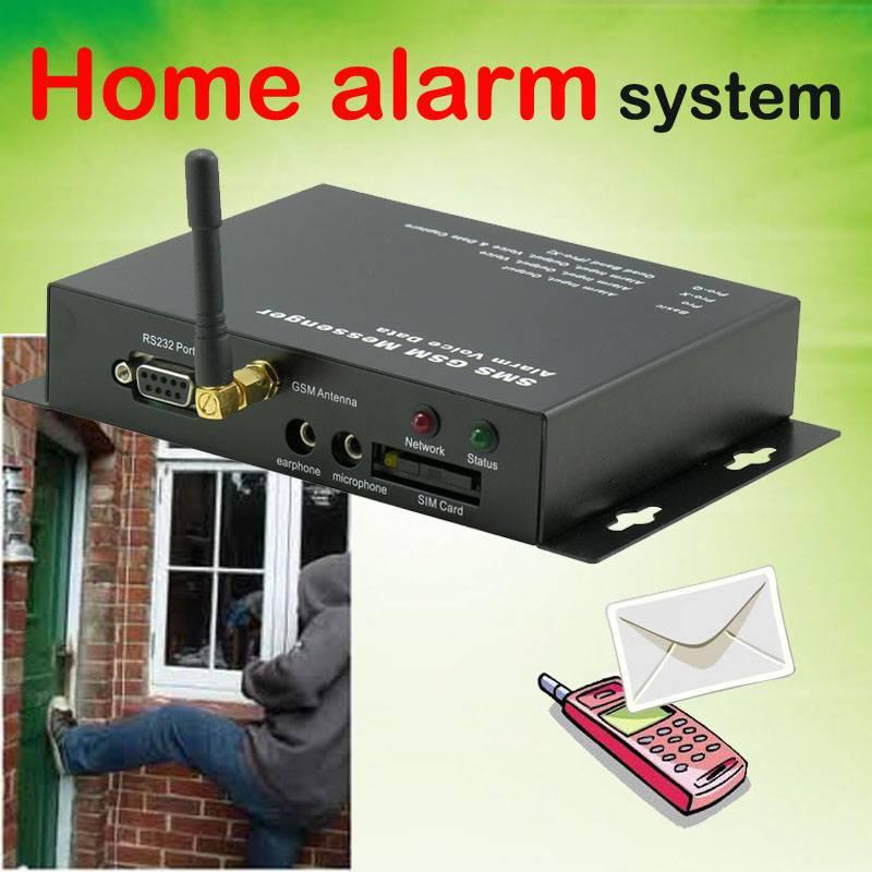 GSM Home Alarm Messenger