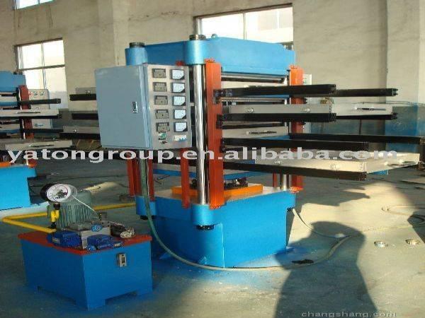 rubber tiles vulcanizing machine