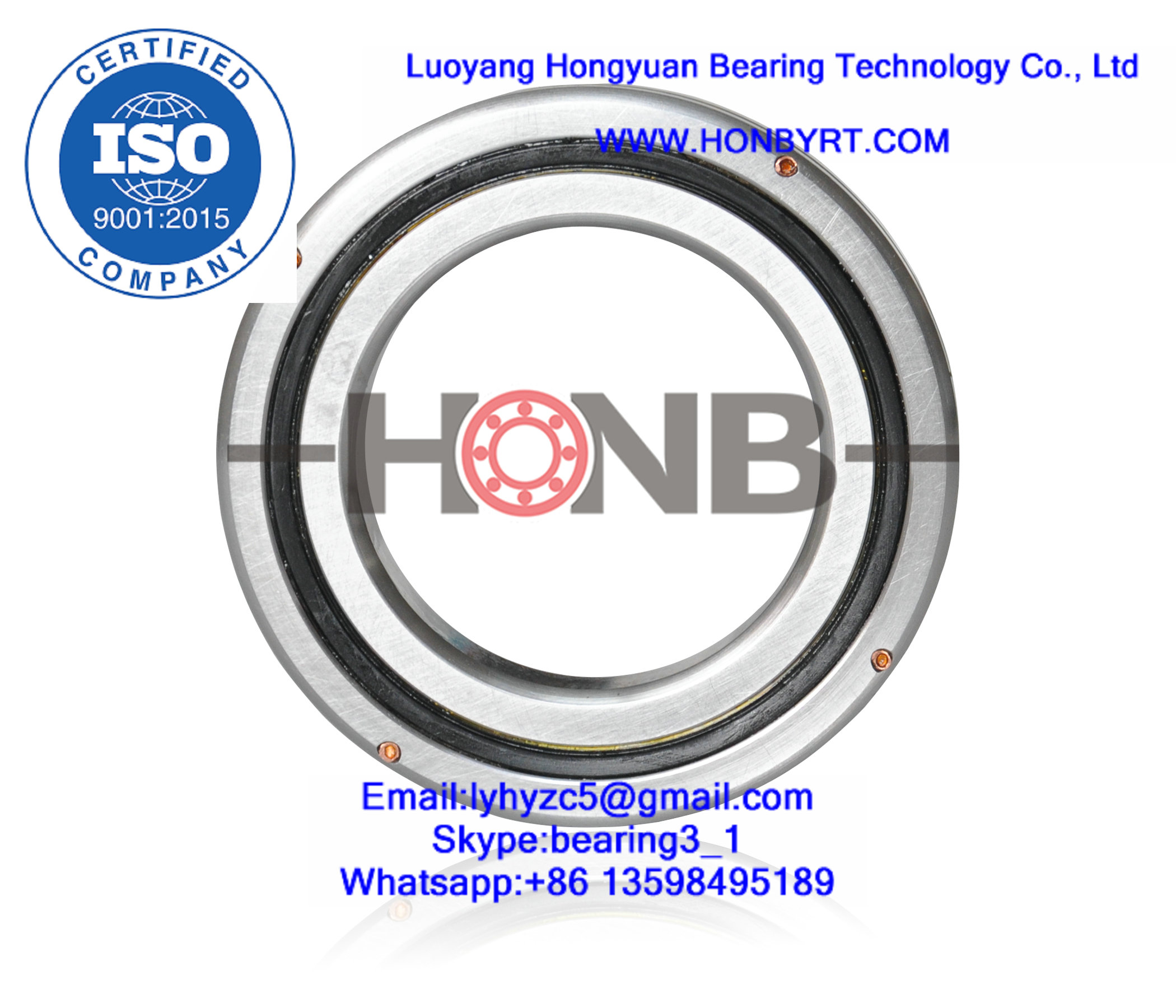 RB4010 crossed roller bearings 40x65x10mm precision slewing ring