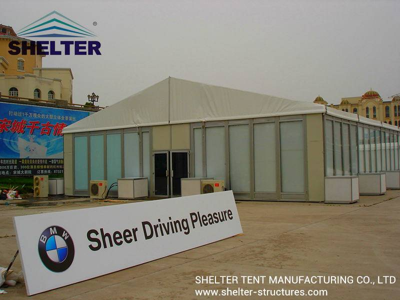 Shelter Trade Show Tent-Clear Span Tent-PVC Fabric