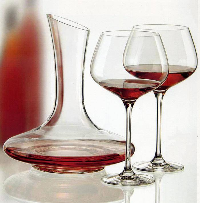 Classic restaurant glassware fancy glass decanter