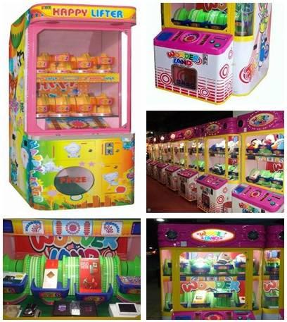 wonder land prize machines for electrinocs, gift vending machines