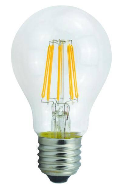 A19 A55 A60 2W/4W/6W/8W Dimmable Led Filament Bulb, E27/E26/B22 Led Filament Light