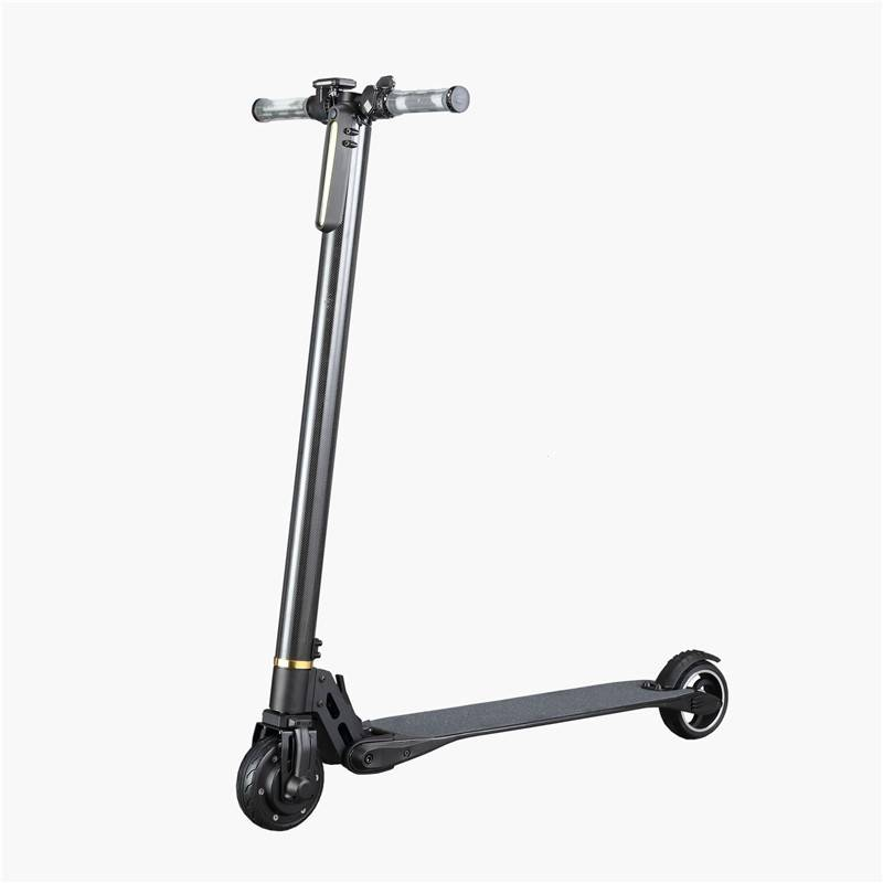 5inch electric carbon fiber scooter