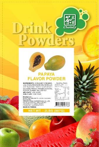Papaya Flavor Powder for Bubble Tea Drink
