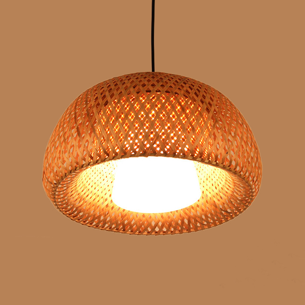 Handmade Bamboo Contemporary Fancy decoratitive Pendant Vintage Lighting Creative suspension lamp