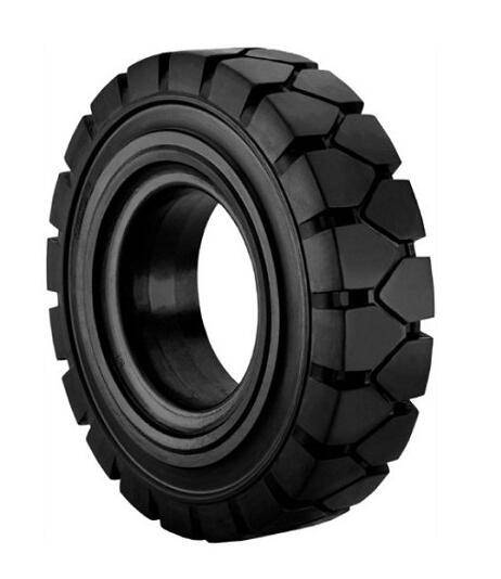 solid resilient tire