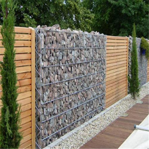 Gabion Box Fence