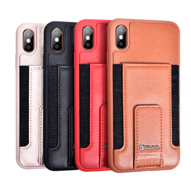 PULOKA Wholesale Mobile Phone Accessories Bumper Cover Cell Phone Case for iPhone X