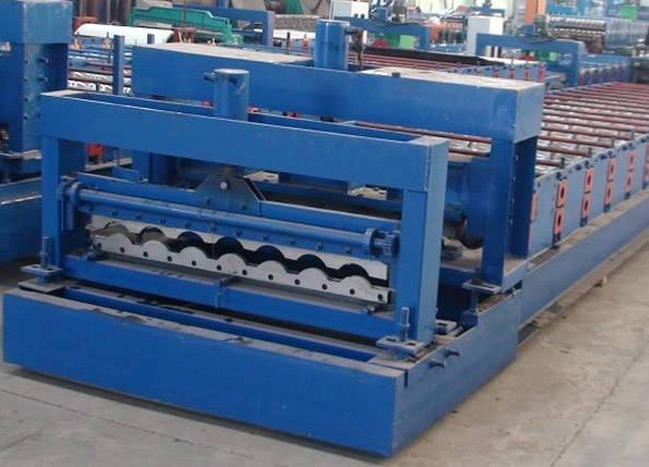 Glaze Roof Tile Steel Roll Forming Machine