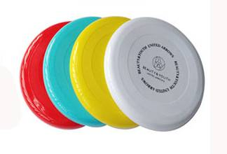 wholesale plastic promotion gift frisbee