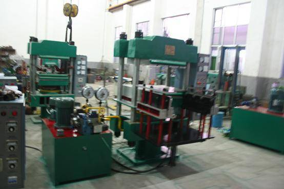 rubber shoes vulcanizing press