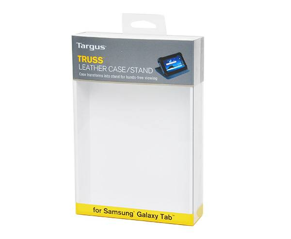 Clear Soft Crease Plastic Box For Galaxy Tab