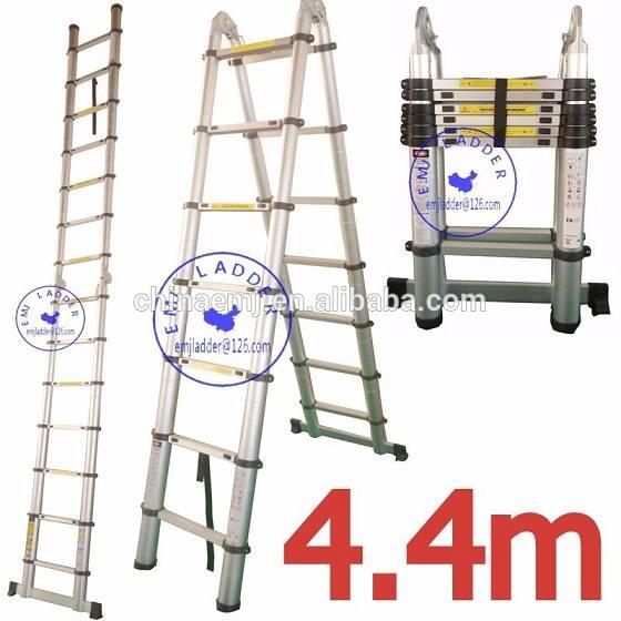 EMJ 4.4m joint telescopic ladder