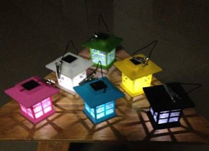 Solar Lantern Lighting
